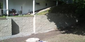 Stödmur Vallentuna